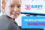 Projekt edukacyjny B. Net - zaproszenie na szkolenie w Łukowie