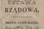 230. rocznica uchwalenia Konstytucji Trzeciego Maja