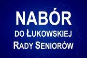 Nabór do Łukowskiej Rady Seniorów