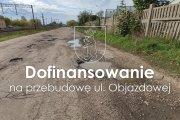 Dofinansowanie na przebudowę ul. Objazdowej